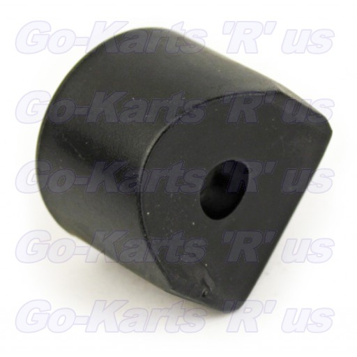 14084 : Endcap,  Bar - 1.00 Black Plastic