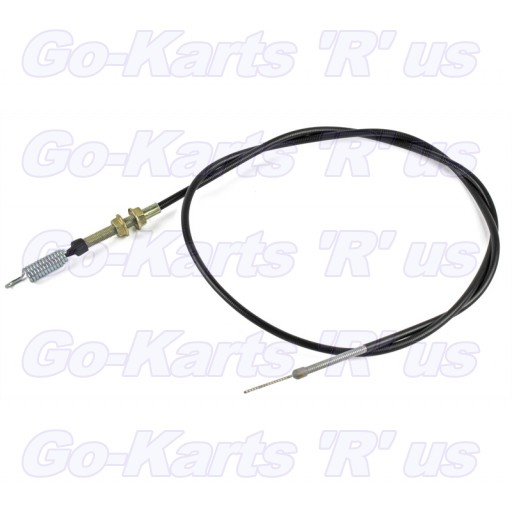 2-11015 : Throttle Cable with  Spring (sub For 2-11013)