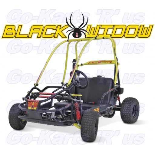 Black Widow Go-Cart