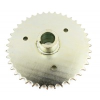 10515 : D-Sprkt 420p 40 Tooth 1in Bore with 1/4in Keyway