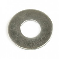 15401 : Washer,  3/8 Plain Flat ZN