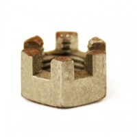 2-50041 : Nut,  3/8in Slotted-Ft