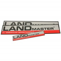 2-60216 : Decal,  Landmaster Red (SET)