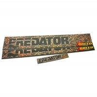 2-60298 : Decal-Predator Bedside W/ Tailgate