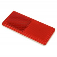 2-70150 : Reflector-UTV #RE10RB (RED)-Adhesive Back