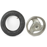 50329 : Rear Comp Wheel with Tire (SILVER Only)