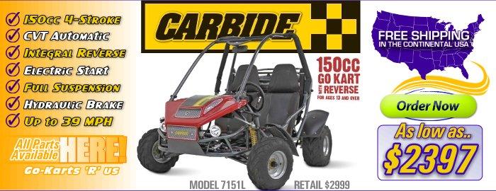 American SportWorks Carbide Go-Kart